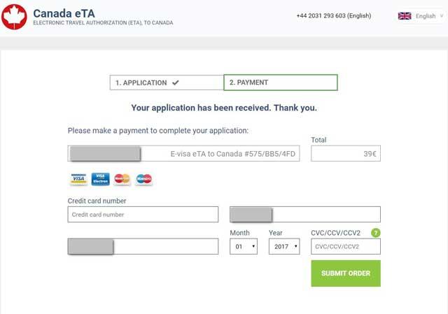 Canadian visa for Australian citizen